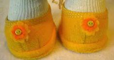 Mimin Dolls: Aprenda a fazer um sapatinho para sua doll