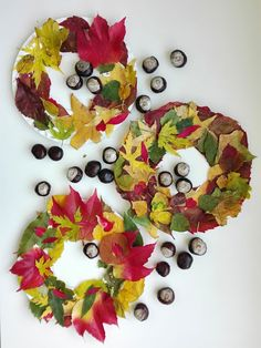 Diy: fall crafts for kids - podzimní tvoření s dětmi ősz Craft Projects For Kids, Crafts For Kids To Make, Kids Crafts, Mason Jar Lanterns, Fall Decor, Autumn Decorations, Creative, Halloween, Bulletin Boards