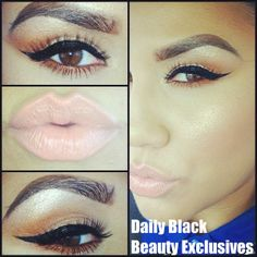 .....PERFECT MAKE UP #AFRICAN AMERICAN WOMEN.......CHECK OUT MORE ON DAILY BLACK BEAUTY EXCLUSIVES ON FACEBOOK!!!