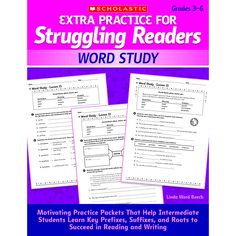 EXTRA PRACTICE FOR STRUGGLING