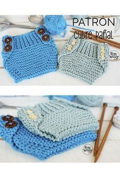 This Pin was discovered by Gūl Baby Knitting Patterns, Knitting For Kids, Loom Knitting, Baby Patterns, Baby Born Clothes, Knitted Baby Clothes, Tricot Baby, Diy Crafts Crochet, Diy Bebe