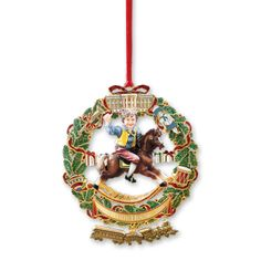 2003 White House Christmas Ornament, A Child's Rocking Horse - Ornaments - Christmas | The White House Historical Association