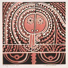Te Kooti by Para Matchitt Nz Art, Maori Art, Australian Art, Art Auction, New Zealand, Abstract Art, Arts And Crafts, Contemporary, Artwork