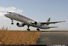 Ethiopian Airlines Boeing ET-ALZ departing Addis Ababa-Bole International, October (Photo: Raimund Stehmann) Different Airlines, Boeing Aircraft, Addis Ababa, Aircraft Pictures, Air Travel, Aerial Photography, Aviation, Airplanes, October 2013