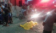 CIDADE: Um morto no Bairro Jardim Olinda II