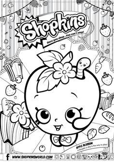 shopkins birthday party ideas moanashopkins coloring pages free printableshopkins