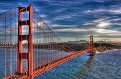 Golden Gate Sunset by vgm8383, via Flickr