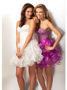 A-line Sexy Fitted Bodice Short Prom Dress /Formal Dress/Homecoming dress Clarisse 17101