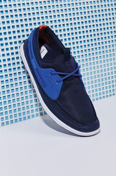 c27e846d93767 See more. Kick off the week in style with comfortable blue summer shoes by  Lacoste. Lacoste Shoes