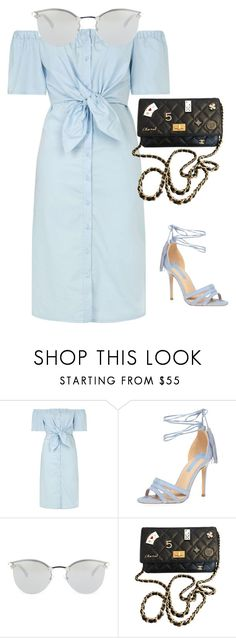 """""""Europe"""" by lyricjones17 ❤ liked on Polyvore featuring Topshop, Dorothy Perkins, Fendi and Chanel"""