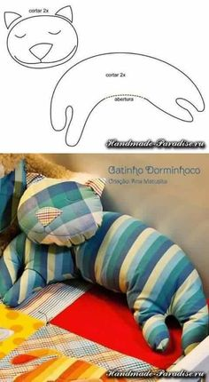 Creative DIY Pillow Ideas #DIY #craft #sewing #pillow