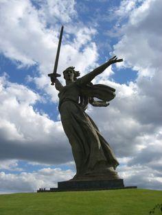The war memorials of the world's bloodiest battle #travel #photos #russia
