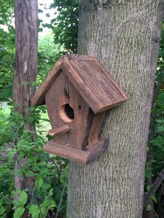 Rustic bird house by KeithGeppetto on Etsy