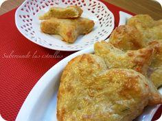 Saboreando las estrellas: Galletas de queso y romero