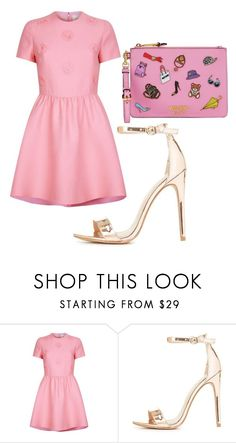 """""""Untitled #570"""" by itssarahh ❤ liked on Polyvore featuring Valentino, Charlotte Russe and Moschino"""