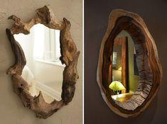 Dekoracje do domu z ...fragmentów drzew - zdjęcie 2