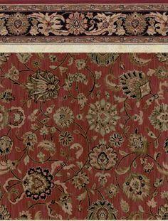Oriental Patterned Wall To Wall Carpet - Carpet Vidalondon