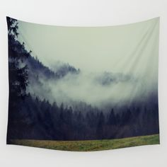 #society6 #woods #forest #fog #mist #clouds #dslr #walltapestry #tapestry #art #print #canvas #shop