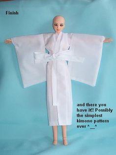 Simple doll kimono tutorial by Tenshi-blues.deviantart.com on @deviantART
