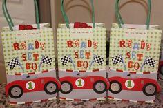 Race Car Favor Bags