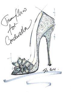 """シンデレラの""""ガラスの靴""""をデザイン!ジミー・チュウほか8ブランドから特別なシューズコレクションの写真1"""