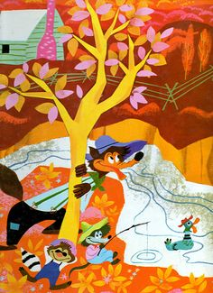 Mary Blair-song of the south..........Some of Dad's favorite stories.