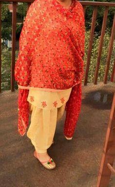 Beautiful phulkari suit