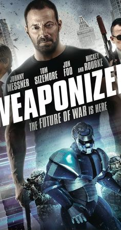 Weaponized DVD Tom Sizemore, Mickey Rourke, Johnny Messner, Jon Foo -with Sleeve Fiction Movies, Sci Fi Movies, Hd Movies, Movies To Watch, Movies Online, Movie Tv, 2017 Movies, Jon Foo, Mickey Rourke