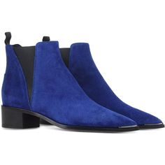 ACNE STUDIOS ($560) ❤ liked on Polyvore featuring shoes, boots, ankle booties, ankle boots, acne studios, ankle bootie boots, short boots and bootie boots