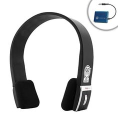 Special Offers - Cheap GOgroove Bluetooth TV Headphones Wireless Connection System for HD Televisions by Sony  LG  Samsung  Sharp  Toshiba  Vizio  Panasonic with Premium Over-Ear Bluetooth Headphones and Bluetooth Transmitter - In stock & Free Shipping. You can save more money! Check It (October 29 2016 at 04:30PM)…