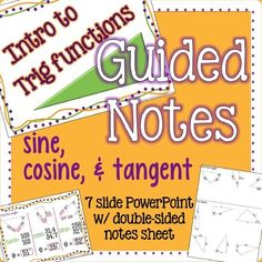 This is a guided-notes lesson that is meant to be teacher led.  (not self-led by…