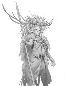 ArtStation - Daily Sketches Week 30, Even Amundsen