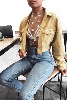Summer fashion ideas for spring outfits oo inspire yourself - Fashion Crop Top Outfits, Trendy Outfits, Cool Outfits, Fashion Outfits, Fashion Ideas, 50s Outfits, Fashion Tips, Party Outfits, Vintage Outfits
