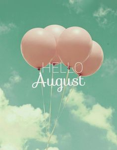 August is like the Sunday of Summer. Happy New Month! #summer #august #newmonth