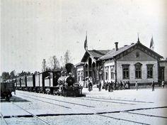 Old Imatra railway station