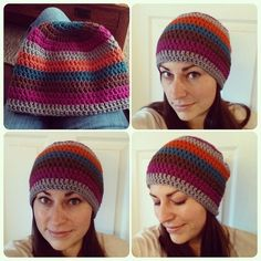 A super easy free crochet hat pattern for beginners in crochet - perfect for all sizes.