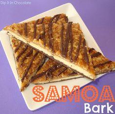 Dip it in Chocolate: Samoa Bark