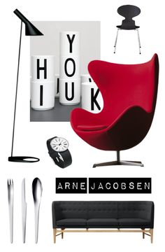 Arne Jacobsen - mobilierul scandinav- un arhitect şi designer danez care a participat la dezvoltarea ideilor funcţionaliste