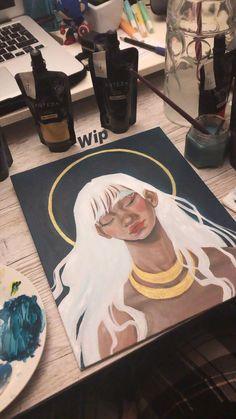 Filipa Santos on I . Art Inspo, Kunst Inspo, Painting Inspiration, Art And Illustration, Art Sketches, Art Drawings, Art Amour, Arte Sketchbook, Art Hoe