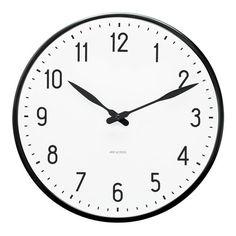 Arne Jacobsen Station Wall Clock