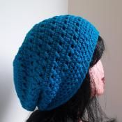Kisses Slouchy Hat / Beanie - via @Craftsy crochet pattern