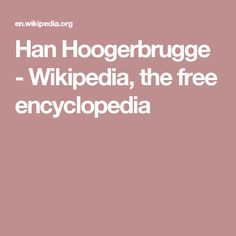 Han Hoogerbrugge - Wikipedia, the free encyclopedia