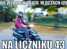 #smiechy #śmieszne #memy #humor #funny #lol #fun #skuter #wiatr #oczy Poland, Funny Animals, Haha, Humor, Memes, Living Room, Ha Ha, Humour, Meme