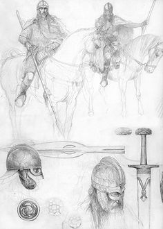 alan_lee_the lord of the rings_sketchbook_14_the armies gather01_med.jpg (357×500)