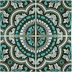 Decorative Spanish Tiles Amusing Spanish Tile 4 Temporary Decorative Vinyl Applique Flooring Design Ideas