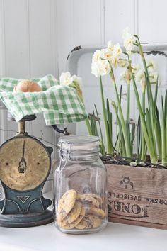 Lovely for the vintage kitchen