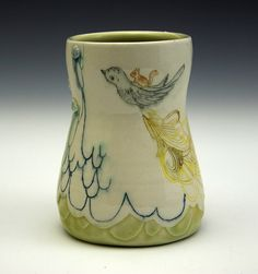 michelle summers pottery via flickr
