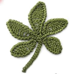 12 esquemas de flores a ganchillo | El blog de LosAbalorios.com