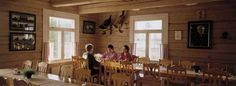 Saija Lodge-Restaurant, cosy and traditional with house specialities in Taivalkoski, Kuusamo Lapland Finland Holidays In Finland, Farm Holidays, Cosy Apartment, Lapland Finland, Log Homes, Traditional House, Rooms, Restaurant, Ceiling Lights
