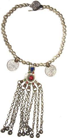 collar monedas boho étnico tribal kuchi afgano, 40cm http://nellass.com/product_images/c/940/IMG_6816__67151_zoom.JPG